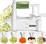 Spiralizer 5-Blade Vegetable Slicer, Strongest-and-Heaviest...