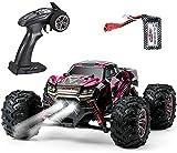 VATOS Ferngesteuertes Auto 4WD Elektro RC Auto 26 km/h Hochgeschwindigkeits 1:20 RC Monster Truck 2,4 GHz Rennwagen RC Crawler Spielzeug Geschenk für Kinder Erwachsene (RC Auto)