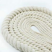 MIYU アクセサリーの袋を作るプロセスプロジェクトとしてのコットンロープ編組ロープ (Color : 5mm 2 metres)