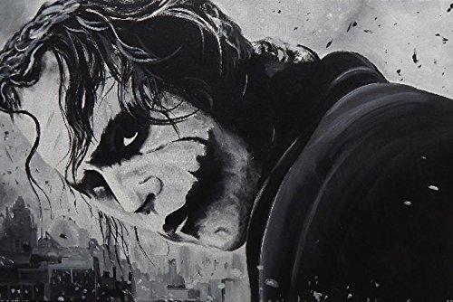 Close Up Poster Dark Knight Joker Ed Capeau (91,5cm x 61cm) + Un Poster Surprise en Cadeau!
