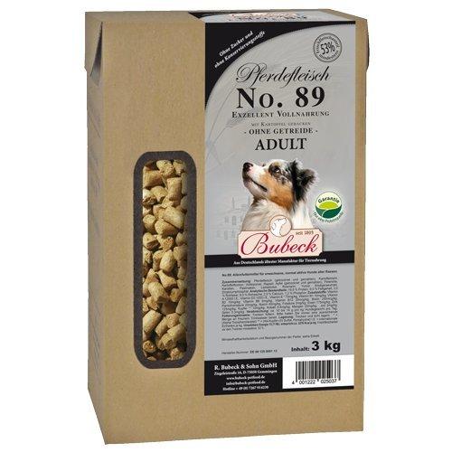 Bubeck, No. 89 - Adult Pferdefleisch+Kartoffel, gebacken 3 kg