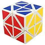 Willking Helicopter Square Z Cube White Twisty New Copter Angled Edge Turning Magic Puzzle Twist Toy