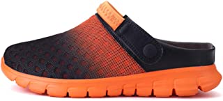SHANLEE Unisex Mesh Sandals Breathable Summer Beach Shoes Outdoor Walking Slippers