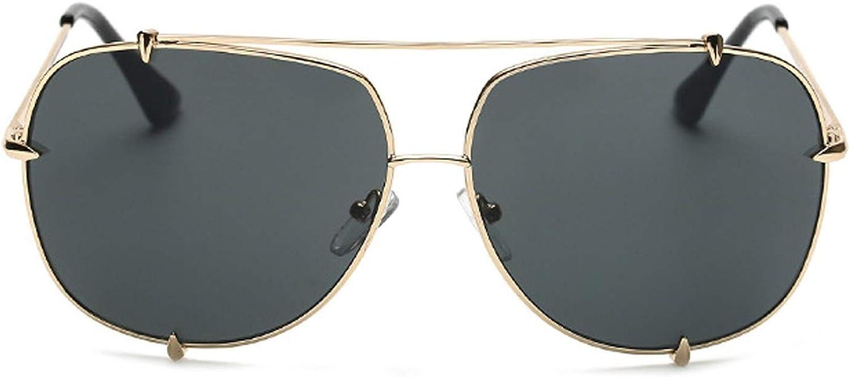 HeiPlaine Driving Glasses Tide, Metal, Men, Sunglasses, Tide, Retro, Yurt, Sunglasses, Couple, Glasses' Predection Sunglasses