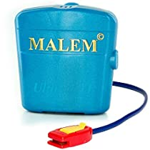 Malem Ultimate Bedwetting Alarm for Boys and Girls - Loud Sound and Strong Vibration Wake Even Deep Sleepers - Award Winning Enuresis Alarm by Malem