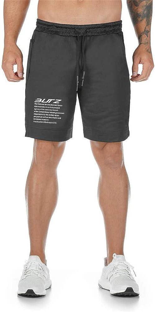 Astellarie Mens Casual Athletic Shorts, Basketball Training Gym Shorts with Drawstring