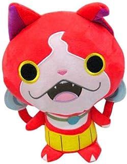 N-L Yokai Watch Peluches Yo-Kai Watch Cat Jibanyan Komasan Whisper Peluches de Peluche Juguetes Muñeca para niños Niños 30Cm