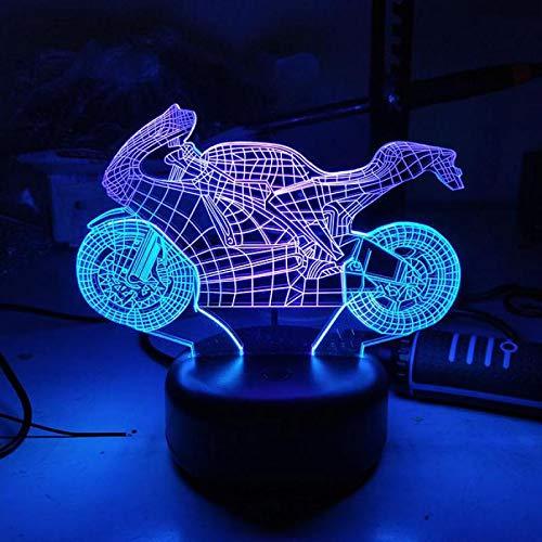 LIkaxyd Ilusión 3D Luz Nocturna Lámpara,7 Colores Cambio De Botón Táctil Y Cable Usb, Regalo De Navidad Para Niño[Clase De Eficiencia Energética A +++]Béisbol Profesional Estadounidense