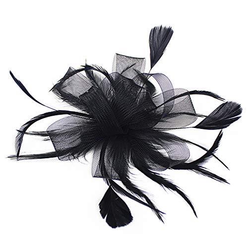 JUSTDOLIFE Diadema de pelo para mujer Moda decorativa Rama Mariposa Banda para el cabello Fiesta