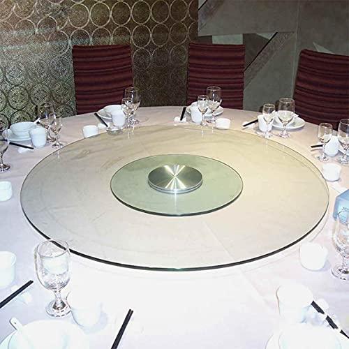 STEPPE Mesa Giratoria Base Giratoria De 360 °,Vidrio Templado Base Giratoria para Pastel para Mueble para Mesa de Comedor
