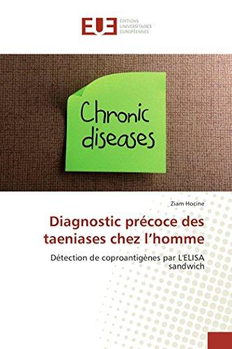 Diagnostic précoce des taeniases chez l'homme: Détection de coproantigènes par L'ELISA sandwich