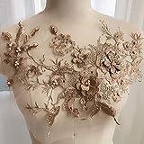 Vap26 - Parches de tela de tul para decoración del hogar, hechos a mano, con...