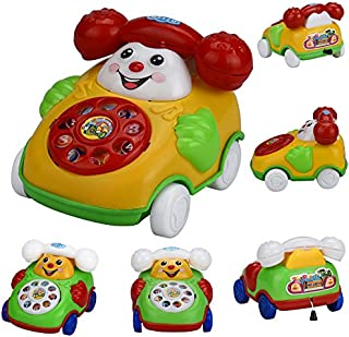 Elevin(TM)👍👍 Educational Toys Cartoon Smile Phone Car Developmental Kids Toy Gift