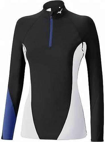 MIZUNO- Tee Shirt Virtual Body G1 Femme Taille XS noir voitureibean Sea