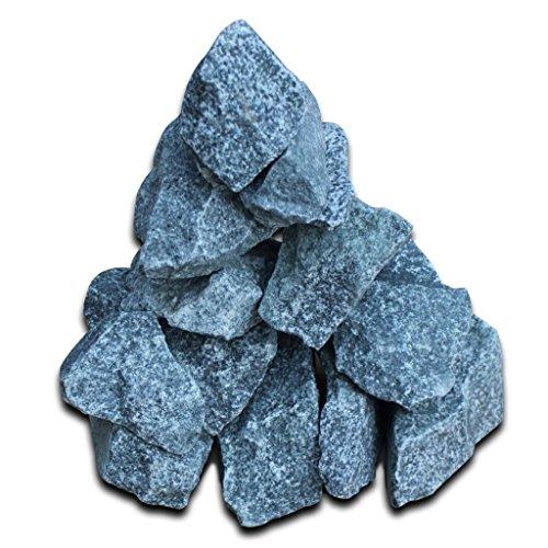 Saunasteine Dampfsteine Ofensteine Sauna Aufguss Steine 15 kg