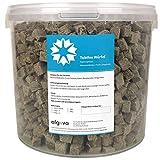 Algova Tubifex Cubos Alimento para Peces liofilizados Alimento para Tortugas acuáticas (5L = 650g)