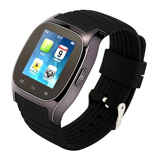 Corelink Bluetooth Smart Watch Phone LCD touch screen Smartwatch indossabile con contapassi monitoraggio calorie, passi contatore per iPhone Android Smartphone