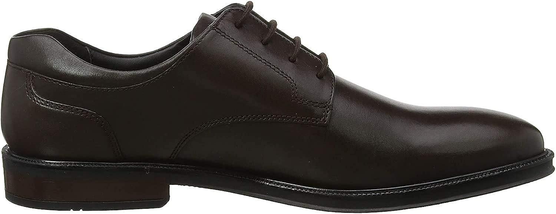 Hotter Men's Oxfords, Brown Dark Brown 17, 9.5