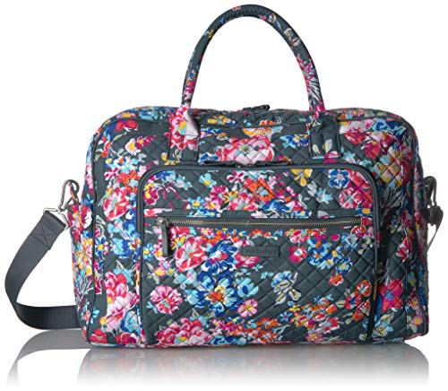 Vera Bradley Signature Cotton Weekender, Pretty Posies
