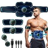 BLUE LOVE Abs Stimulator,Muscle Toner, Abs Stimulating Belt, Abdominal Toner- Training Device for...