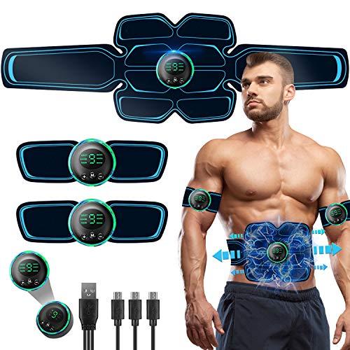 Elettrostimolatore per Addominali,Elettrostimolatore Muscolare Professionale per...