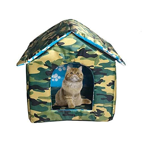 Caseta para Perros Reciclado De La Perrera Aire Libre Casa D