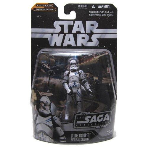 Hasbro 21626 Star Wars Saga Collection Quinta Flota Clone Trooper Figura de acción