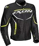 Ixon Giacca da moto Sprinter Air Nero/Giallo, L
