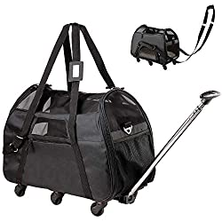 WPS Airline Approved Wheeled Pet Carrier