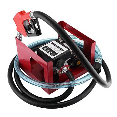 BuoQua 600W Heizölpumpe Selbstansaugend Dieselpumpe 40L / min Ölpumpe Elektrisch Ölabsaugpumpe