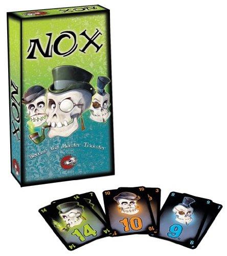 Nox Card Game Board Game by Passport Game Studio (English Manual)