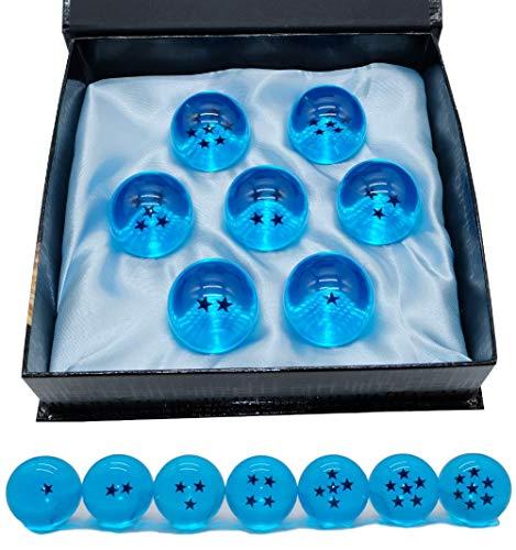 SIMUER Glaskugel Kristallkugel Fotokugel Wahrsagerkugel Glass Sphere Ball (Blue Dragon Balls)