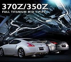 Tomei Ti Titanium Mid Y Pipe for Nissan 370Z VQ37VHR / 350Z VQ35DE VQ35HR