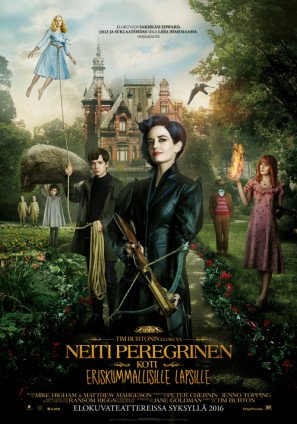 Miss Peregrine's Home for Peculiar Children - Tim Burton – Finnish Movie Wall Poster Print - 43cm x 61cm / 17 Inches x 24 Inches A2