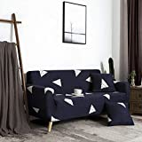 Fundas de sofá para Sala de Estar, Dormitorio, Cocina, Comedor 1 Plaza 1 Uds, Funda de sofá seccional elástica elástica, Funda de sofá Larga, sillón en Forma de L para Sala de Estar A