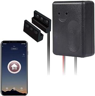Smart Wi-Fi Garage Door Opener, Wireless Remote Smartphone APP Control, Compatible with Alexa, Google Assistant and IFTTT, No Hub Needed,Sensor