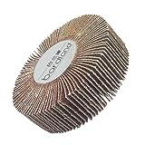 Bardland 80x25x6 4x lija de disco de rueda de papel de lija 60 disco de arena para herramientas rotativas Dremel