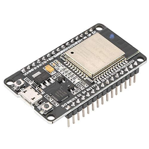 Módulo WiFi ESP32, módulo WiFi IOT, módulo de desarrollo WiFi inalámbrico + Bluetooth Función potente para flujo de audio Sensor de baja potencia Decodificación de MP3 en red 50 * 28Mm