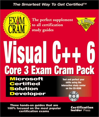 McSd Visual C++ 6 Core 3 Exam Cram Pack