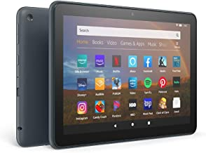 "Fire HD 8 Plus tablet, HD display, 32 GB, our best 8"" tablet for portable entertainment, Slate, without ads"