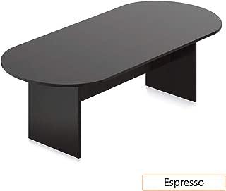 GOF 8FT Conference Table, Cherry, Espresso, Mahogany, Walnut (8FT, Espresso)
