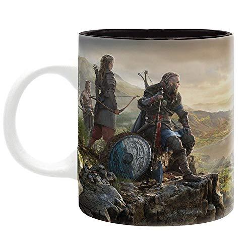 Assassins Creed - Tasse Kaffeebecher - Vikings of Valhalla - keramik - Geschenkbox
