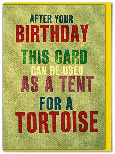 BrainBox Candy Geburtstagskarte mit Zelt