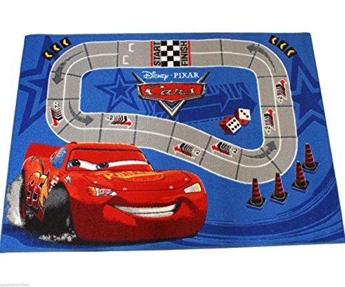 Disney Cars Tapis de jeu pour enfant 133 x 95 cm Tapis Auto Car 22
