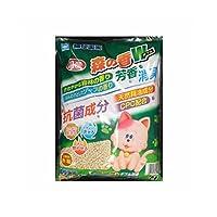 (まとめ)アース・バイオケミカル 猫砂楽園 森の香ダブル 7L 【ペット用品】【×6 セット】
