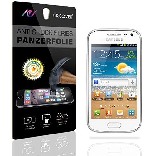 Urcover Galaxy Ace 2 Protector Pantalla, 9H Cristal Templado [Ultra HD Full Screen & Crystal Clear] Instalación Anti-Burbuja Anti-Scratch Samsung Galaxy Ace 2
