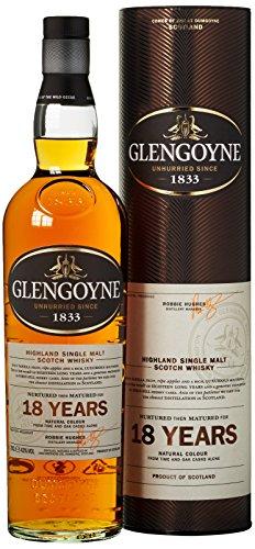 Glengoyne 18 Jahre Single Malt Scotch Whisky mit Geschenkverpackung (1 x 0,7 l)