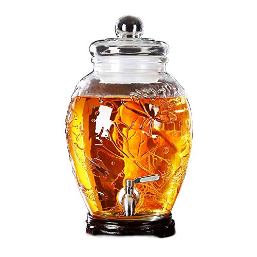 SXZHSM Wijnfles Drink Dispenser koude drank sap bier wijn limonade witte wijn koffie familie bar party glas dispenser 6L ~ 15L drankdispenser