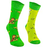 Comodo - 3 Paar lustige Socken Unisex|Bunte Funny Socks für Damen|Herren & Kinder aus Baumwolle mit verschiedenen Mustern & Motiven|Farbe:001.|3 Paar|Schildkröten|Größen:39-42