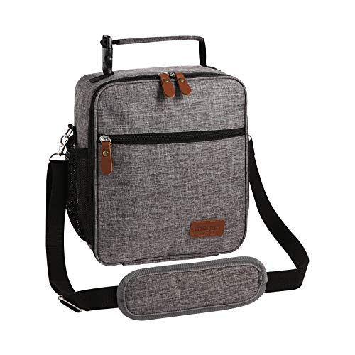 MEGUO Lunch box Insulated Lunch Bag, Adult Lunchbox,Compact and Fashionable LunchBags for Men Women kids (Upgraded Version)